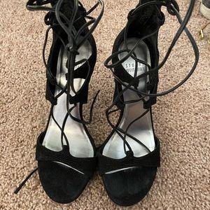 Stuart Weitzman Lace Up Heels
